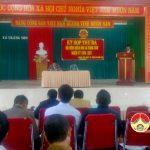 HĐND xã Tràng Sơn tổ chức kỳ họp thứ 3, nhiệm kỳ 2016 – 2021