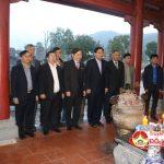 Đoàn giám sát Quốc hội và lãnh đạo tỉnh dâng hương tại Khu di tích lịch sử Quốc gia Truông Bồn