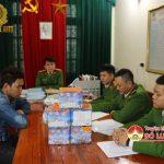 Công an Đô Lương bắt qủa tang vụ tàng trữ pháo.