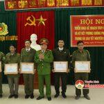 Công an huyện Đô Lương triển khai kế hoạch truy quét tội phạm và ký kết phòng chống pháo trước, trong và sau tết nguyên đán