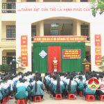 Trường THPT Đô Lương 4 tổ chức tuyên truyền phòng chống các hành vi vi phạm về pháo dịp tết nguyên đán Đinh Dậu 2017.