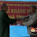 Hội nạn nhân chất độc dacam dioxin huyện Đô Lương trao tiền hỗ trợ xây dựng nhà tình nghĩa cho hội viên có hoàn cảnh khó khăn