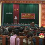 LĐLĐ huyện tổ chức học tập, quán triệt và triển khai thực hiện Nghị quyết lần thứ 4 BCH Trung ương Đảng ( Khóa XII)
