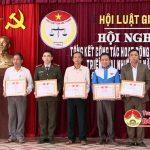 Hội luật gia huyện Đô Lương tổng kết công tác hội năm 2016 và triển khai nhiệm vụ năm 2017