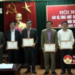 Cơ quan huyện ủy Đô Lương tổ chức hội nghị CBCC năm 2017