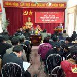 Ủy Ban Mặt trận Tổ Quốc huyện tổ chức tổng kết công tác năm 2016.