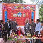 Lãnh đạo huyện Đô Lương tặng quà mừng thọ Cán bộ lão thành  cách mạng và Mẹ Việt Nam anh hùng 100 tuổi