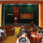 Huyện ủy tổ chức học tập quán triệt và triển khai thực hiện Nghị quyết lần thứ 4 BCH Trung ương Đảng ( Khóa XII)