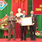 Trường THCS Nguyễn Thái Nhự đón bằng công nhận trường chuẩn quốc gia