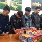 Công an huyện Đô Lương bắt giữ 8 đối tượng buôn bán và tàng trữ pháo nổ