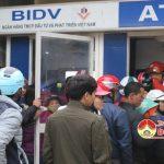 Các cây ATM rút tiền ở Đô Lương quá tải