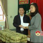 Tổng công ty Techo tặng quà tết tại Đô Lương