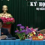 Thị trấn tổ chức kỳ họp thứ 3 hội đồng nhân dân thị nhiệm kỳ 2016 – 2021