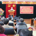 Chi cục thuế Đô Lương tổ chức hội nghị tổng kết công tác thuế năm 2016