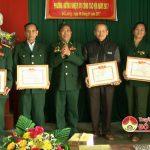 Hội truyền thống Trường Sơn – Đường Hồ Chí Minh huyện Đô Lương kết công tác năm 2016
