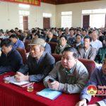 UBND huyện Đô Lương tổ chức tập huấn công tác quản lý, sử dụng hành lang ATGT.
