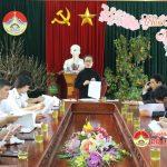 UBND huyện Đô Lương triển khai công tác lễ hội Đền Quả Sơn năm 2017