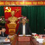 Thường trực Huyện ủy huyện tổ chức hội nghị đầu năm.