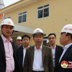 Báo Nghệ An thăm và làm việc với nhà máy Xi măng Sông Lam