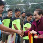 Đô Lương khai mạc giải bóng chuyền nam lễ hội Đền Quả Sơn 2017