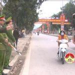 Công an Đô Lương tăng cường đảm bảo an toàn giao thông sau tết Nguyên đán