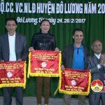 Đô Lương khai mạc giải cầu lông cán bộ công chức viên chức, người lao động năm 2017