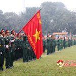 """Sư đoàn 324: Tổ lễ ra quân huấn luyện năm 2017 với chủ đề """"Ra quân Quyết thắng"""""""