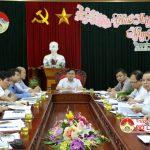 UBND huyện triển khai phiên hợp thường kỳ tháng 2