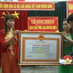 Xóm 4, xã Nam Sơn tổ chức đón bằng công nhận làng văn hóa