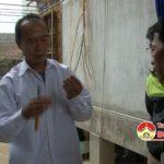 Ông Trần Văn Dung, xóm 3, xã Đặng Sơn, huyện Đô Lương làm giàu từ nghề nuôi ong