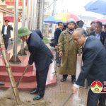 Đô Lương tổ chức lễ phát động tết trồng cây đầu xuân Đinh Dậu