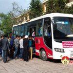 Trường Trung cấp nghề kinh tế kỹ thuật Đô Lương tổ chức lễ ra quân thực tập tốt nghiệp