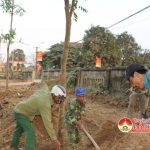 Đô Lương tổ chức trồng cây tại Đền Quả Sơn