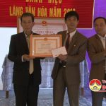 Xóm 8, xã Lam Sơn đón nhận danh hiệu làng văn hóa cấp huyện