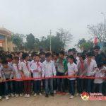 Xã Tràng Sơn, Đô Lương: Gần 1000 người tham gia chạy Việt dã hưởng ứng ngày Thể thao Việt Nam