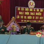 Hội CCB xã Tân Sơn đại hội đại biểu khoá 8 nhiệm kì 2017 – 2022
