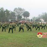 Kho K2 tổ chức lễ ra quân huấn luyện năm 2017
