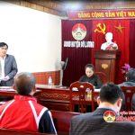 UBND huyện Đô Lương triển khai công tác chuẩn bị  Đại hội Thể dục – Thể thao năm 2017.