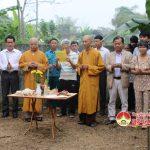 Hội phật tử chùa Phúc Mỹ khởi công xây dựng nhà tình nghĩa cho  bà Cao Thị Phương