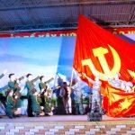 Đoàn nghệ thuật QK4 biểu diễn văn nghệ phục vụ nhân dân Đô Lương