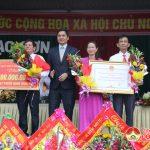 Xã Lạc Sơn tổ chức lễ đón nhận đạt chuẩn Nông thôn mới