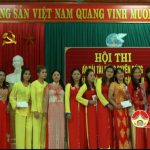 Hội phụ nữ Tràng Sơn tổ chức hội thi áo dài tài năng duyên dáng
