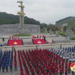 Đô Lương tổ chức kết nạp 600 đoàn viên tại Khu di tích lịch sử Truông Bồn.