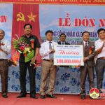 Xã Xuân Sơn: Tổ chức lễ đón nhận đạt chuẩn Quốc gia Nông thôn mới.