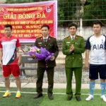 Lần đầu tiên Công an huyện Đô Lương tổ chức giải bóng thanh niên