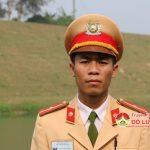 Thiếu úy Nguyễn Duy Tưởng, đội CSTG huyện Đô Lương dũng cảm cứu người