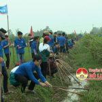 Đoàn xã Đà Sơn ra quân tháng thanh niên 2017