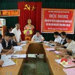 BCH Đảng bộ xã Nam Sơn tổ chức kiểm điểm NQTW4 khóa XII