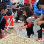 Huyện đoàn Đô Lương bán hành tăm giúp dân