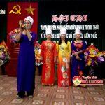 Phụ nữ xã Lạc Sơn mít tinh kỷ niệm ngày Quốc tế phụ nữ 8/3
